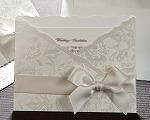 結婚式招待状 ジャパネスクW(ホワイト)