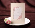 結婚式招待状 メモリーズP(ピンク)