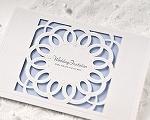 結婚式招待状 クラシックBL(ブルー)