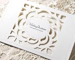 結婚式招待状 クラシックW(ホワイト)